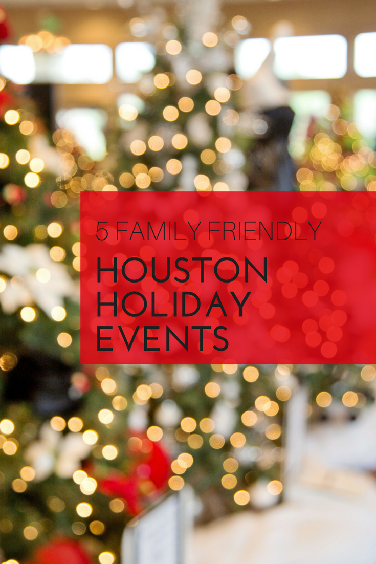 hopefully you spend the holidays with your family and loved ones these events will surely put everyone in a very festive mood - Houston Christmas Events