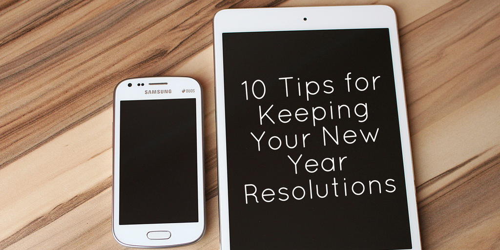 It's a new year, here are 10 tips for keeping your new year resolutions. We all know how tough it can be to keep our new year resolutions but if it's something you really care about, these tips will help. It's never easy to start an entirely new routine to meet your goals, hopefully these tips can help you.