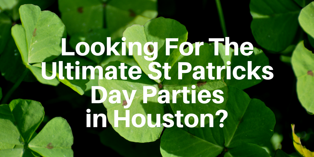 St Patricks day is more than just a goofy holiday where we dress in green and drink our body weight in beers! There's nothing wrong with that, we're showing you the best St Patricks day parties in Houston so you can get your Irish on this year. We're also going to take a look at some of the common misconceptions about Saint Patrick and the holiday that took his namesake!