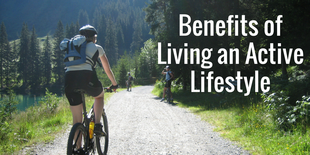 There are many benefits of living an active fit life. You can enjoy more than just washboard abs and looking good for your social media pictures. Everything from mental health to metabolism is improved by living an active fit life.