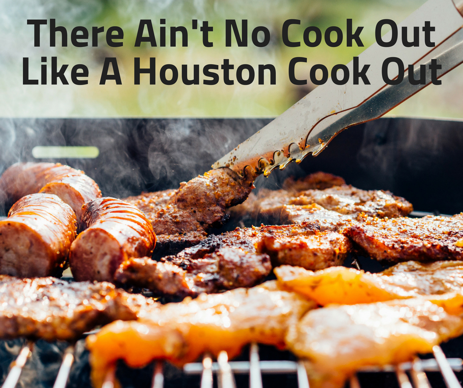 Houston is home to the true American cookout. It's special...slow cooking meat over open flame surrounded by your family, friends, and neighbors!