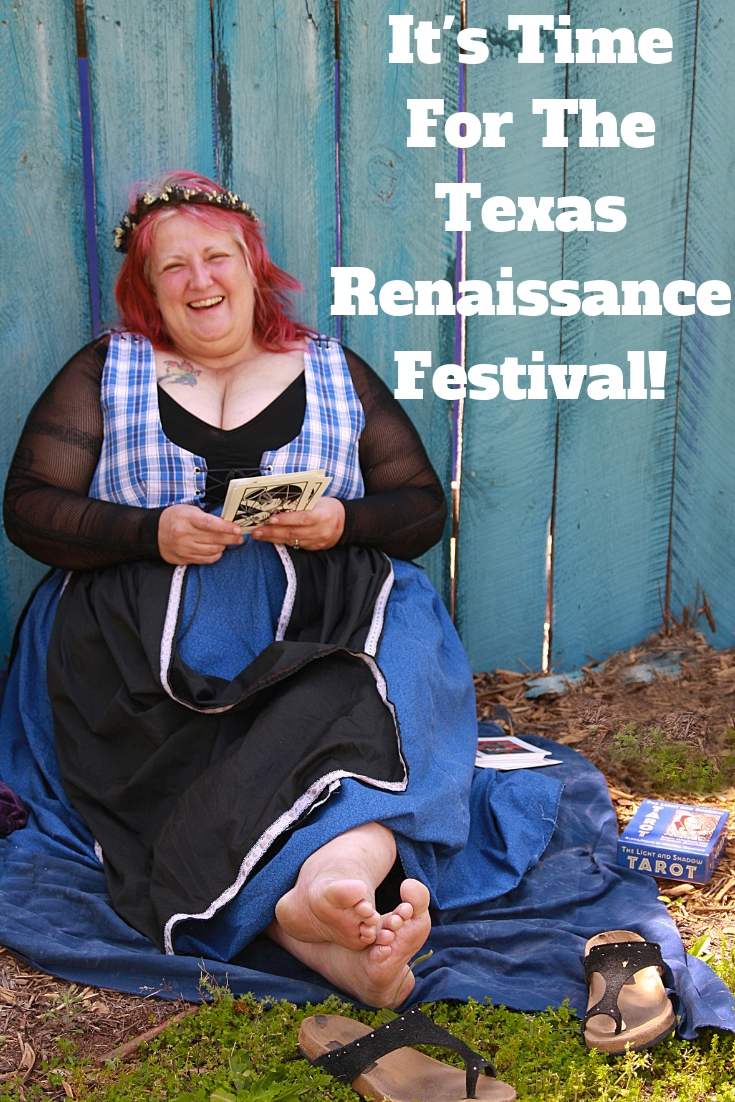 The Texas Renaissance Festival is a huge event that draws people from all over Texas every year and runs from Sept. 29th - Nov 25th.