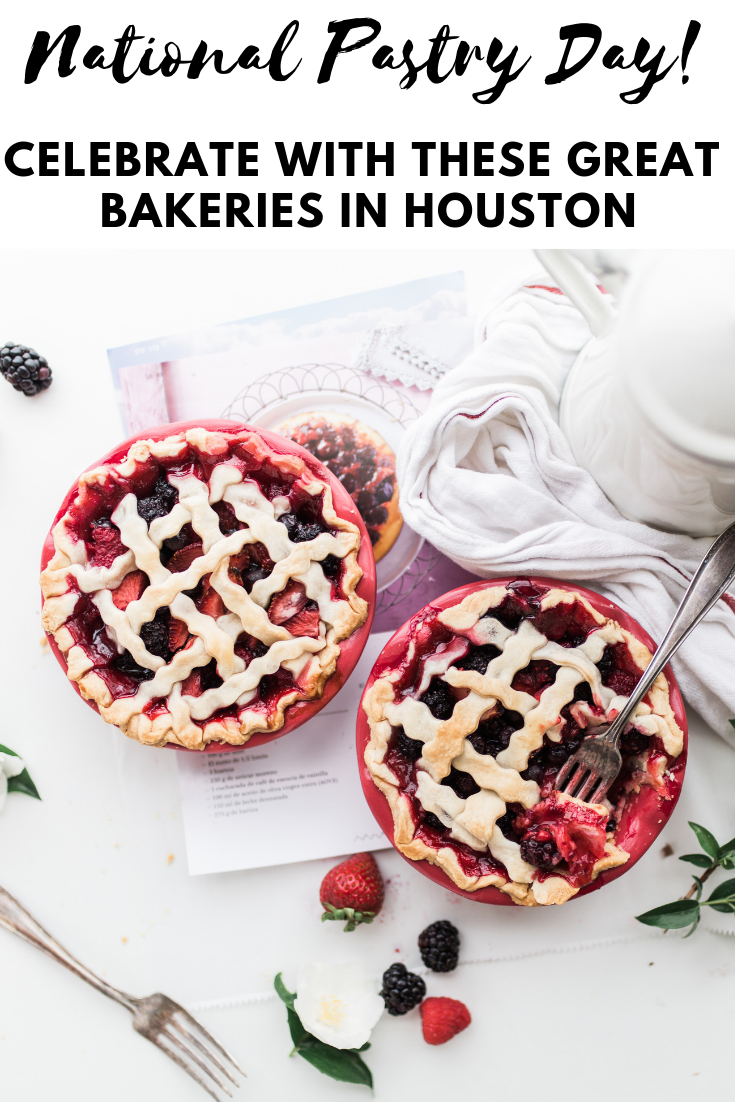 Did you know that this Sunday, December 9th, is National Pastry Day. If you are looking for anything from a blueberry scone, to a cherry danish, or even a buttery croissant, there is a pastry for everyone at the amazing bakeries here in Houston.