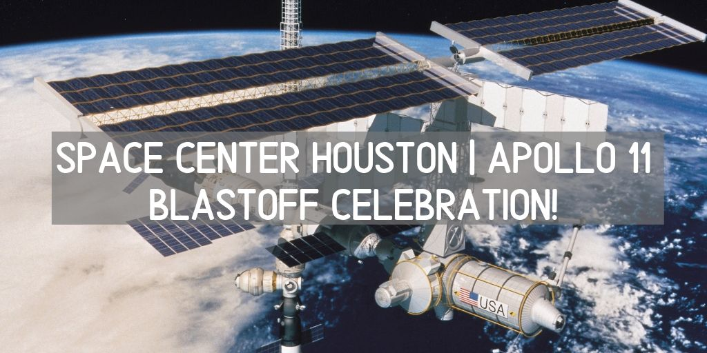 The Space Center Houston is an awesome place to get your Apollo 11 on this summer! There's an anniversary celebration that runs from July 16th which was the blastoff date through July 24th which was the day the astronauts arrived safely back on earth. When it comes to Houston living you won't want to miss out on the great Houston attractions for this great celebration!