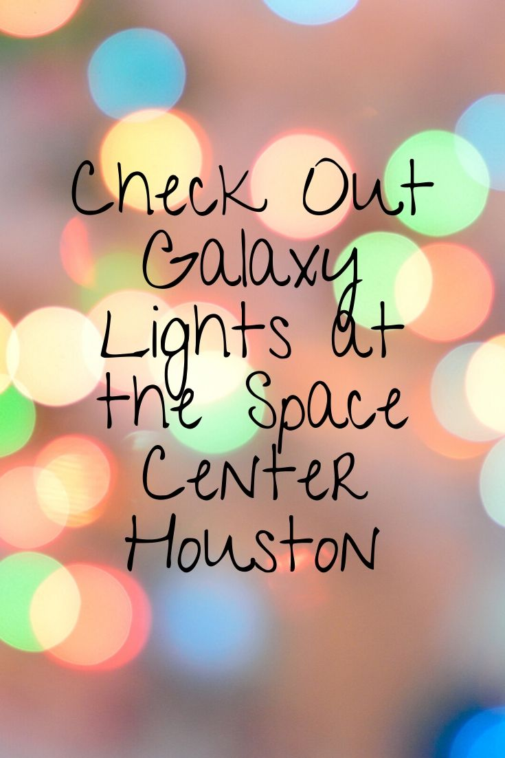 Space Center Houston is celebrating the holidays in a far out way this year. With over 250,000 lights, Christmas trees galore, a massive LED tunnel, an indoor meteor shower, and so much more, Galaxy Lights is an extraterrestrial experience for the whole family.