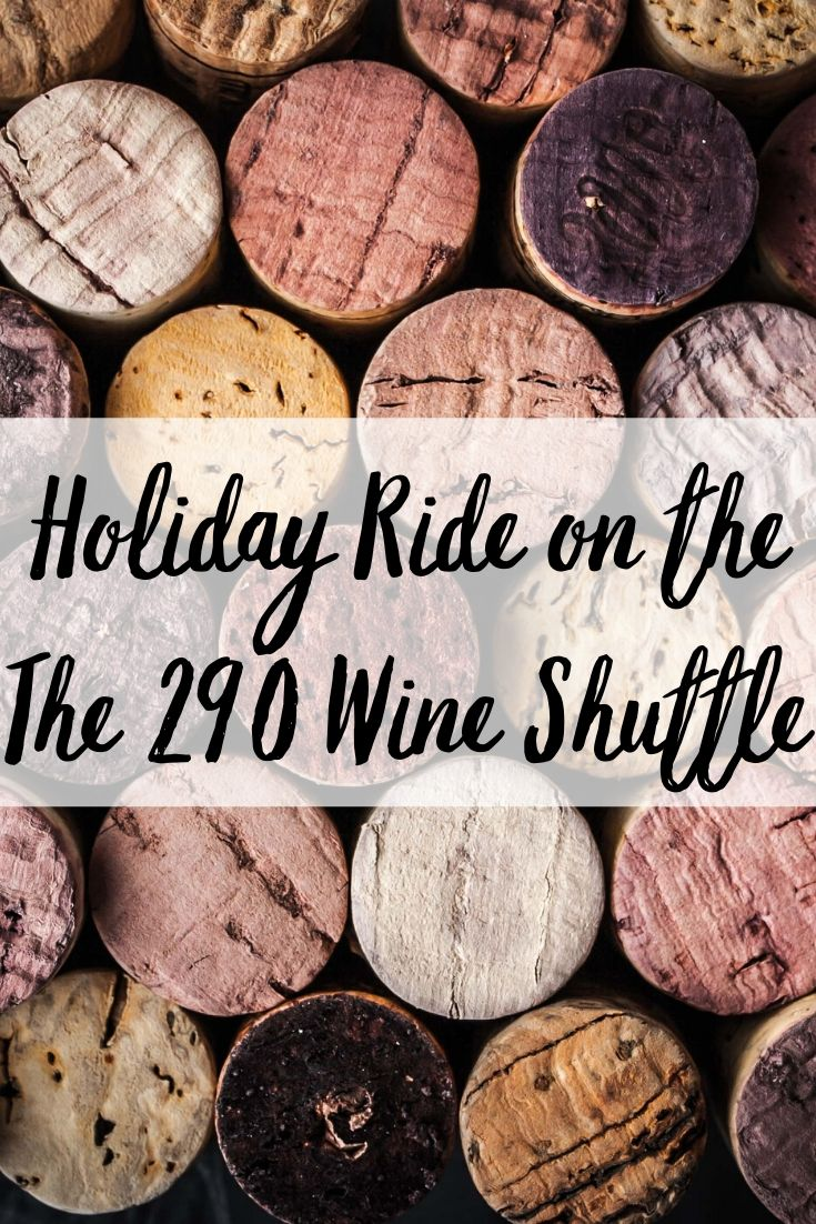 The holidays are for celebrating! This season take your whole family (21+) on a road trip to 18 different vineyards! The 290 Wine Shuttle in Fredericksburg takes you to some of the best wineries on the highway where you can participate in tastings, meet the winemakers, and enjoy life's simple pleasures.